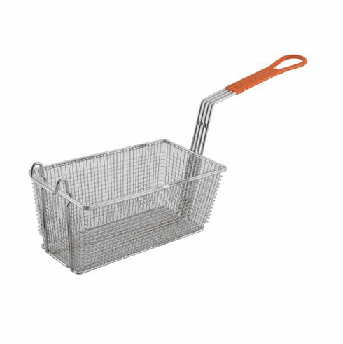"Winco Fry Basket 12 1/8"" X 6 1/2"" X 5 3/8"", Model# FB-10"