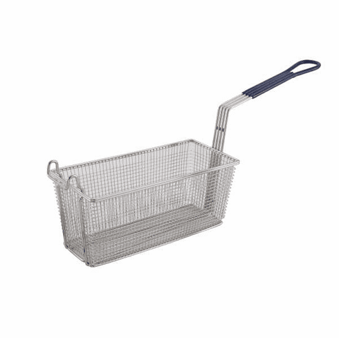 "Winco Fry Basket 13 1/4"" X 5 5/8"" X 5 5/8"", Model# FB-20"