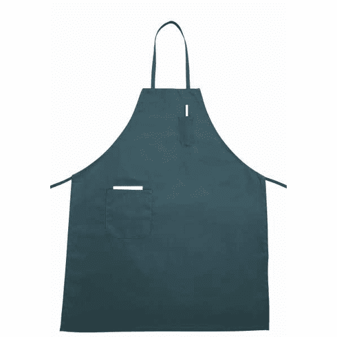 Winco Full Length Bib Apron W/PocketGreen, Model# BA-PGN
