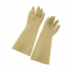 Winco Natural Latex Gloves 8 1/2 * 16Ivory, Model# NLG-816
