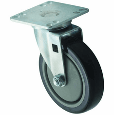"Winco Universal 35"" X 35"" Plate Casters 5"" Wheel 2Pc Set, Model# CT-33"
