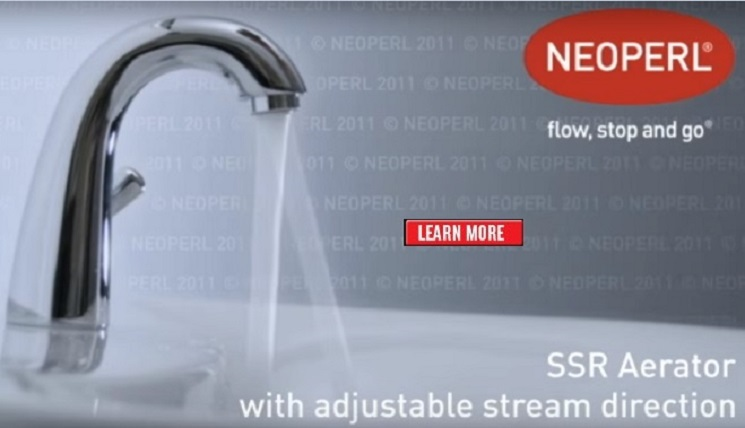 NEOPERL SSR Aerator with Adjustable Angle