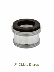 Male 13/16 - 27 X Male 3/4 - 27 Faucet Adapter