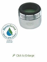 NEOPERL PCA Perlator 1.5 gpm Faucet Aerator, Dual Thread, Male 15/16 and Female 55/64 - 50 Pack