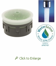 NEOPERL PCA Perlator SSR Aerator Insert, 1.5 GPM, Regular Size, Adjust the Angle of the Water Stream