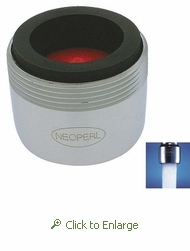 Perlator 2.2 gpm Faucet Aerator, Reg Size, Dual Thread: Male 15/16 and Female 55/64  - 50 Pack
