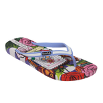 Ish Original Official Frida Kahlo Painting Women Flip-Flop Sandal