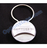 MOMO Design Official Circular Alloy Keychain