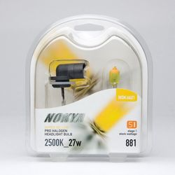 Nokya 881 Hyper Yellow Car Light Bulb (Stage 1) NOK6621 - click to enlarge