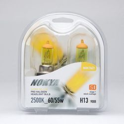 Nokya H13 / 9008 Hyper Yellow Car Light Bulb (Stage 1) NOK7627 - click to enlarge