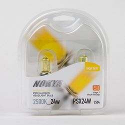 Nokya PSX24W Hyper Yellow Car Light Bulb (Stage 1) NOK7691 - click to enlarge