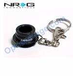 NRG Official (Black) Quick Release 2.5 Keychain