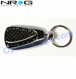 NRG Official Carbon Fiber Type D Keychain