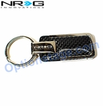 NRG Official Carbon Fiber Type M Keychain
