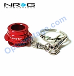 NRG Official (Red) Quick Release 2.5 Keychain