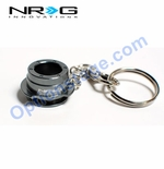 NRG Official (Silver) Quick Release 2.5 Keychain