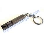 SEIWA JDM Earth Static Electric Gunmetal Body White Light Keychain