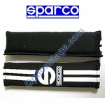 Sparco (2 inch, 77 Line Black Color) Seat Belt Harness Pad