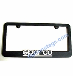 Sparco Offical License Plate Frame