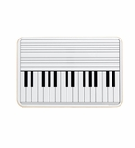Large Piano Keyboard Lapboard