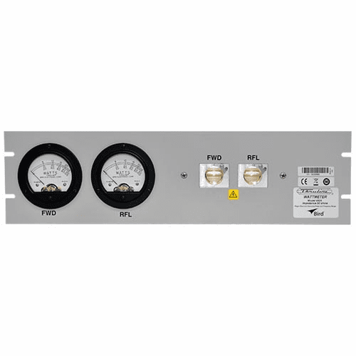 4526, Dual Meter - Dual Element Panel Mount RF Wattmeter