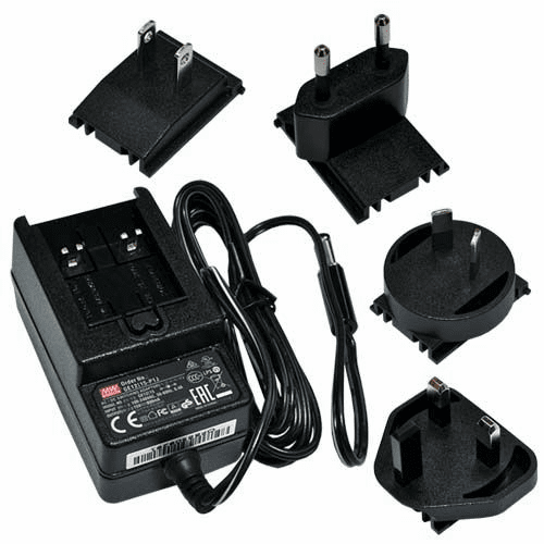5B2229-1512G-1, AC to DC Power Adapter (AT-500 & WPS Series)