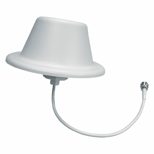 ANT-350-960-NF, Omni Ceiling Antenna, SISO, 350-960 MHz, 50W