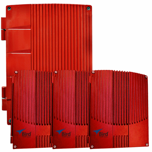 Fiber Fed UHF/700/800 MHz Signal Boosters