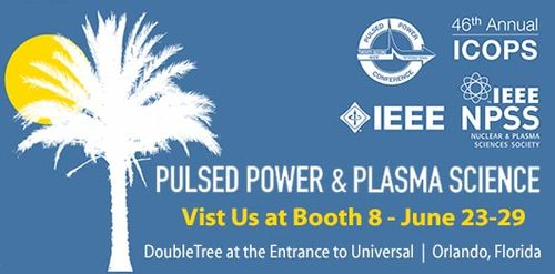 2019 IEEE Pulsed Power and Plasma Science Conference