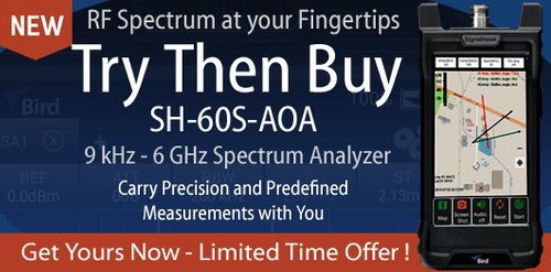 Try Then Buy - SH-60S-AOA RF Spectrum Analyzer