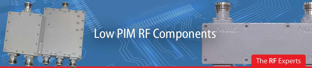 Low PIM Components