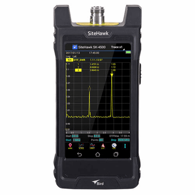SK-4500-TC, 1 MHz - 4.5 GHz SiteHawk Antenna and Cable Analyzer