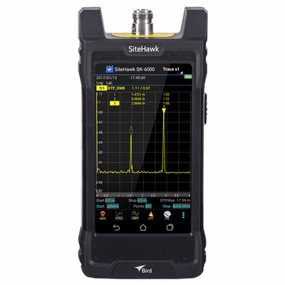 SK-6000-TC, 1 MHz - 6 GHz SiteHawk Antenna and Cable Analyzer
