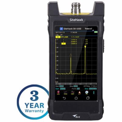 SK-6000-TC, 1 MHz - 6 GHz SiteHawk Cable and Antenna Analyzer