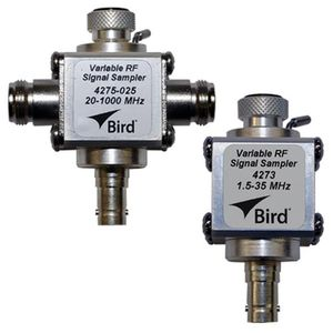 Variable RF Signal Samplers