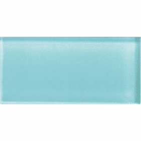 """American Olean Color Appeal Fountain Blue 4"""" X 12"""""""