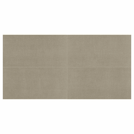 American Olean Elemental Canvas Classic Gray 24 x 24