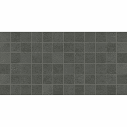 American Olean Theoretical Imaginative Gray Mosaic