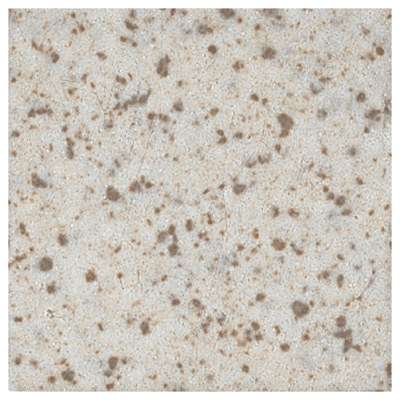 "American Olean Unglazed Colorbody Mosaics Buff Granite Hexagon 1"" x 1"""