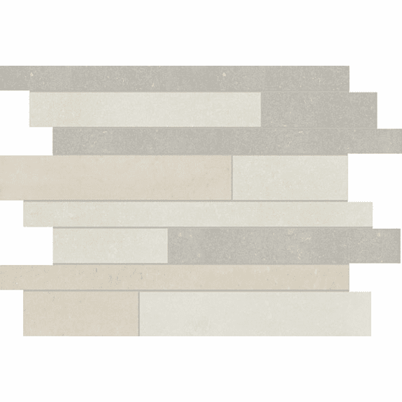 Anatolia Segment Polished Random Strip Blend Mosaics