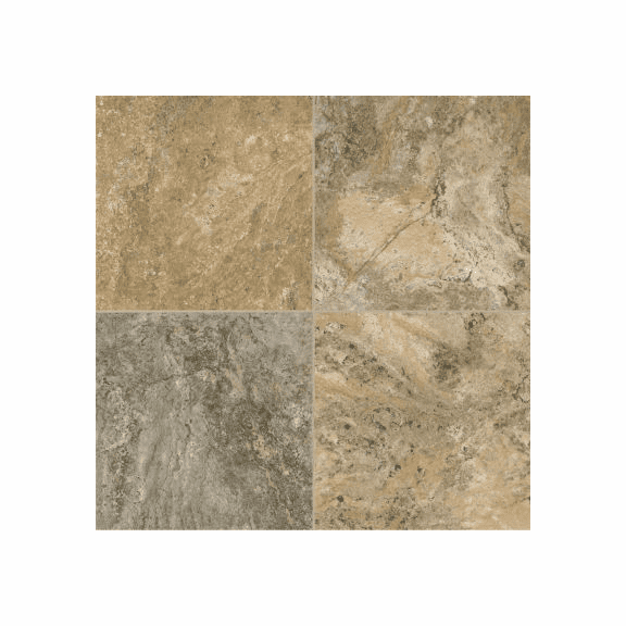 "Armstrong Alterna Reserve Classico Travertine Cameo Brown Gray 16"" x 16"""