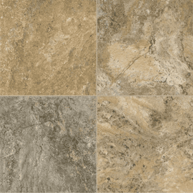 """Armstrong Alterna Reserve Classico Travertine Cameo Brown Gray 16"""" x 16"""""""