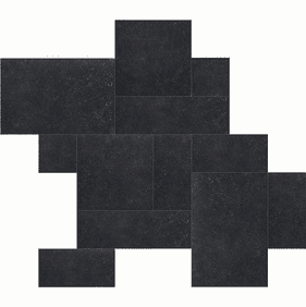 "Atlas Concorde Seastone Black Mosaic 2"" x 2"""