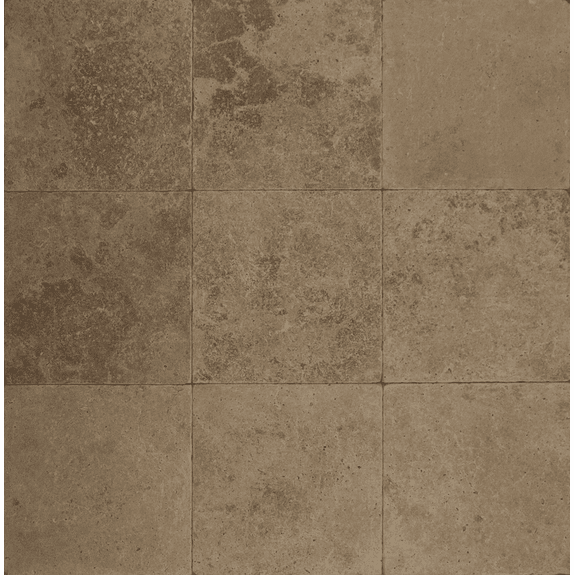 "Bedrosians Pavers Travertine Tile Mocha Jura 16"" x 16"""