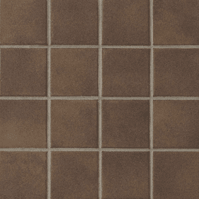 "Crossville Color Blox Mosaic Chocolate Candy 12"" x 12"""