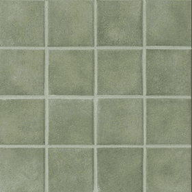 "Crossville Color Blox Mosaic Mr. Green Jeans 12"" x 12"""