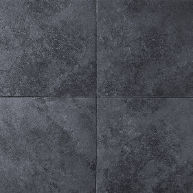 "Daltile Continental Slate 12"" x 18"" Asian Black"
