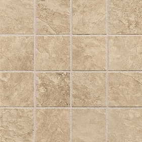 "Daltile Continental Slate 3"" x 3"" Egyptian Beige Mosaic"
