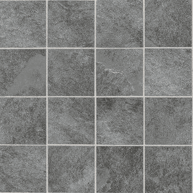 "Daltile Continental Slate 3"" x 3"" English Grey Mosaic"