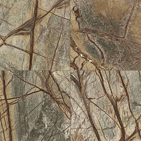 """Daltile Marble Rainforest Green Polished 12"""" x 12"""""""